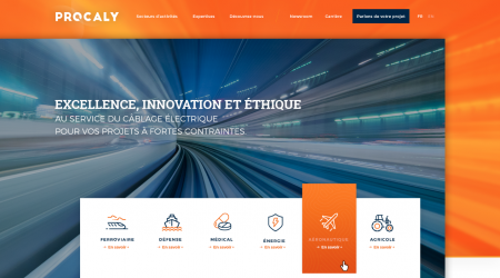 Procaly – Refonte Web